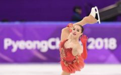 Gold medalist figure skater Alina Zagitova (Russia) at the 2018 Winter Olympics in Pyeongchang. (Image from Robert Schmidt, Washington Post)
