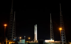 SpaceX Falcon 9 Erection by NASA HQ PHOTO